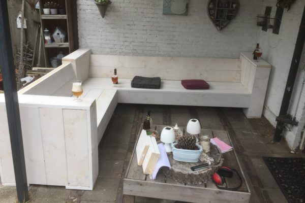 Steigerhout lat Onbehandeld ca 3x6x250cm photo review