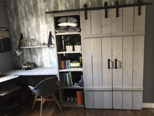 Steigerhout Vintage Grijs - 48 Planken - ca. 30x200x2500mm photo review