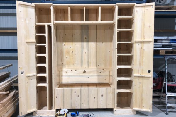 Steigerhout Onbehandeld – 50 Planken - ca 3x20x250cm photo review