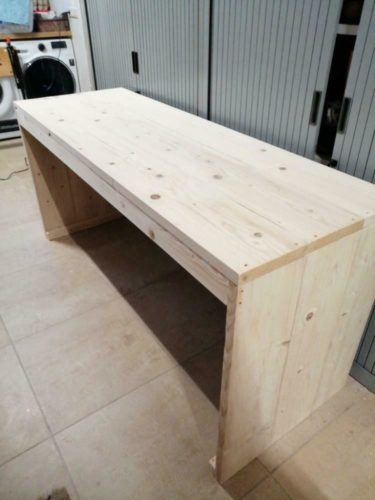 Steigerhout Onbehandeld – 50 Planken - ca. 30x200x2500mm photo review